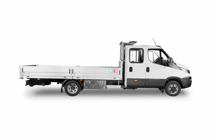 IVECO Daily 3+4hlö lava-auto 9,0m²