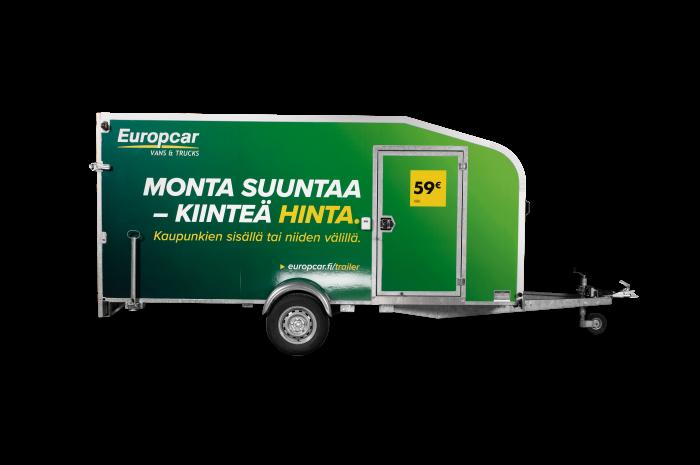 Europcar Umpiperäkärry 11m³