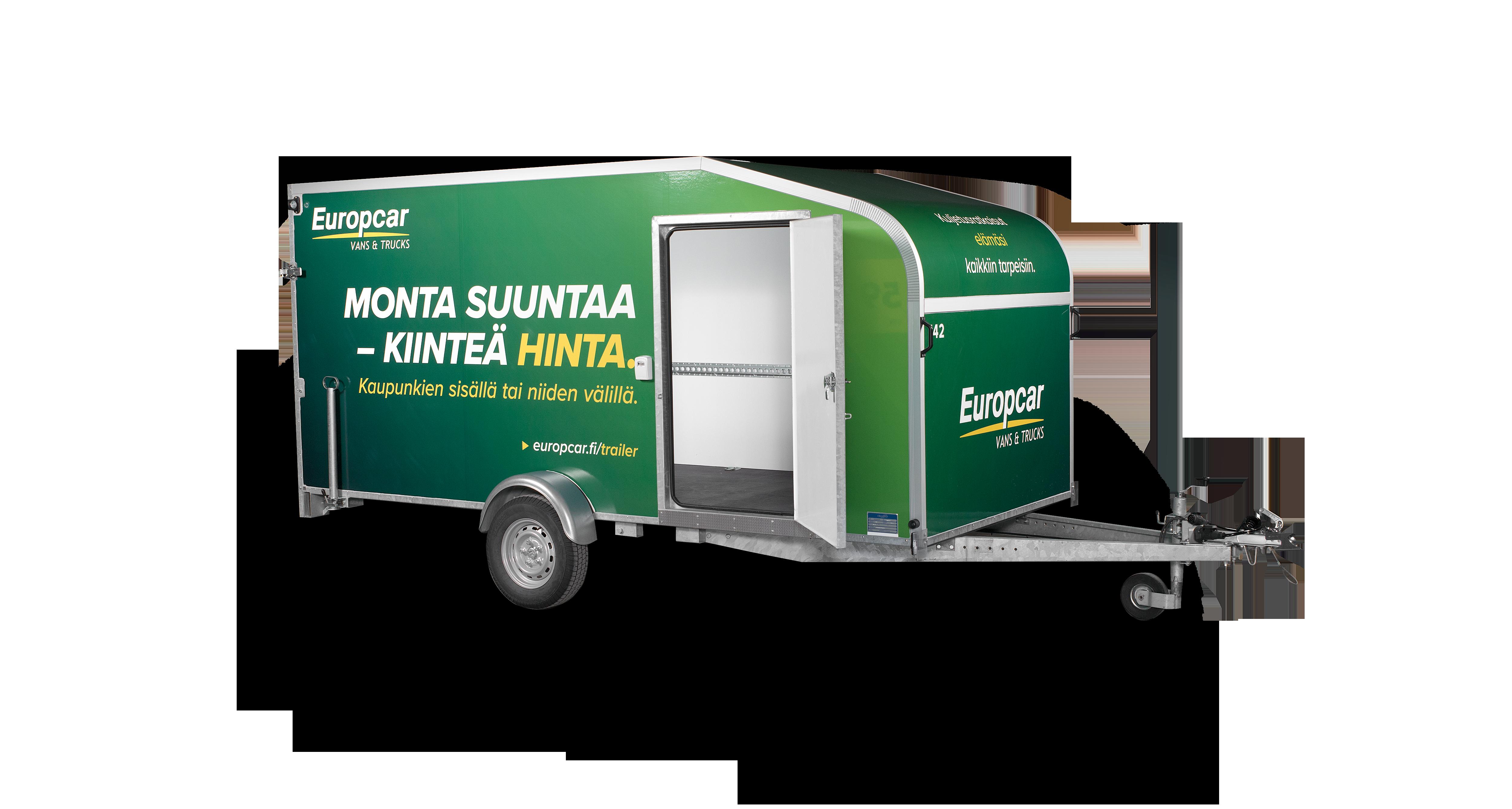 Europcar umpiperäkärry